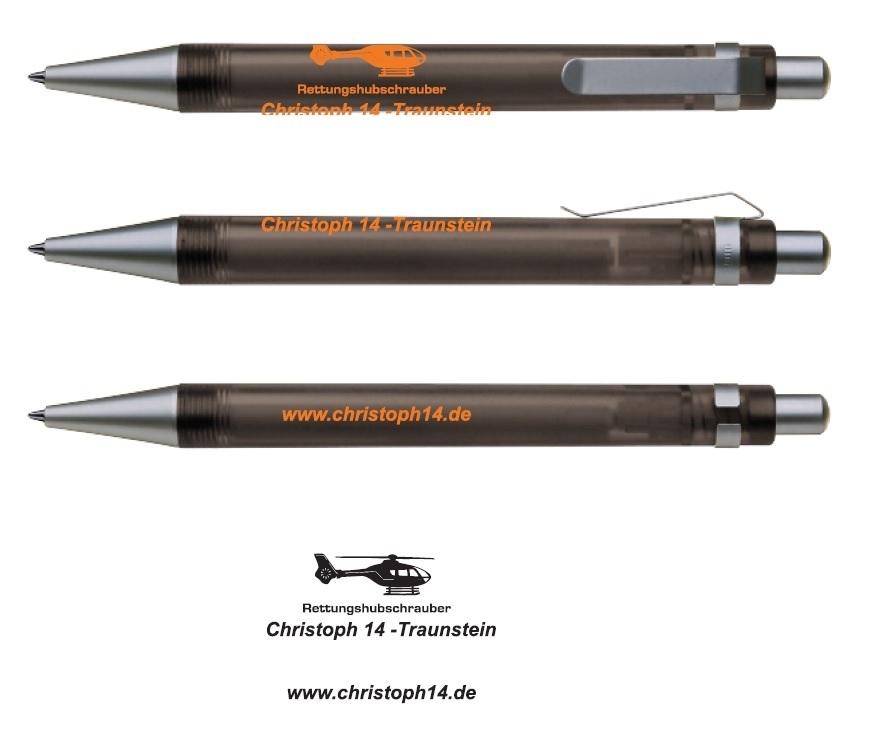 Kugelschreiber anthrazit